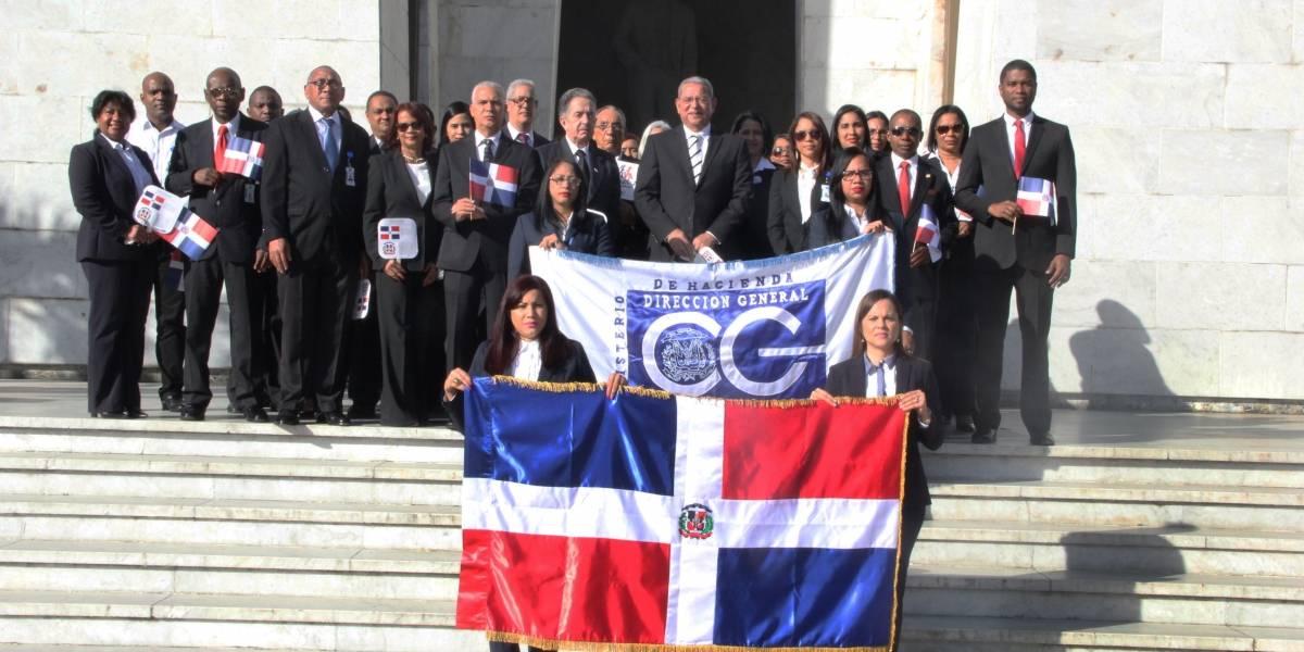 #TeVimosEn: DIGECOG rinde honor a los padres de la Independencia Nacional