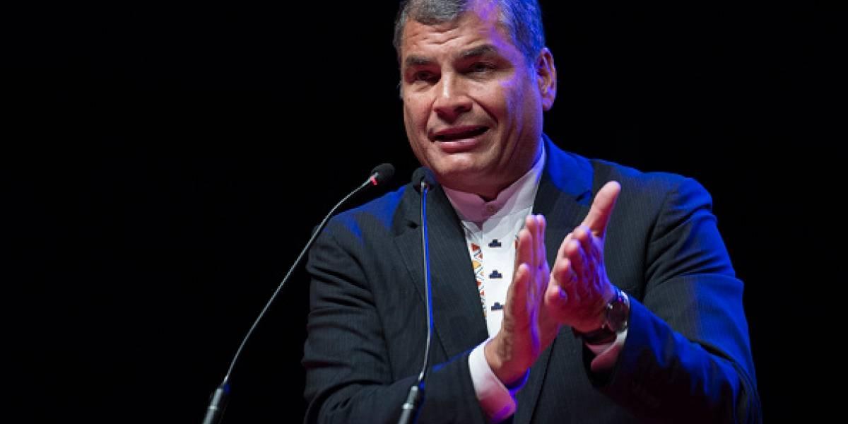 Rafael Correa habla de Hugo Chávez tras conocer resultados de la Consulta Popular