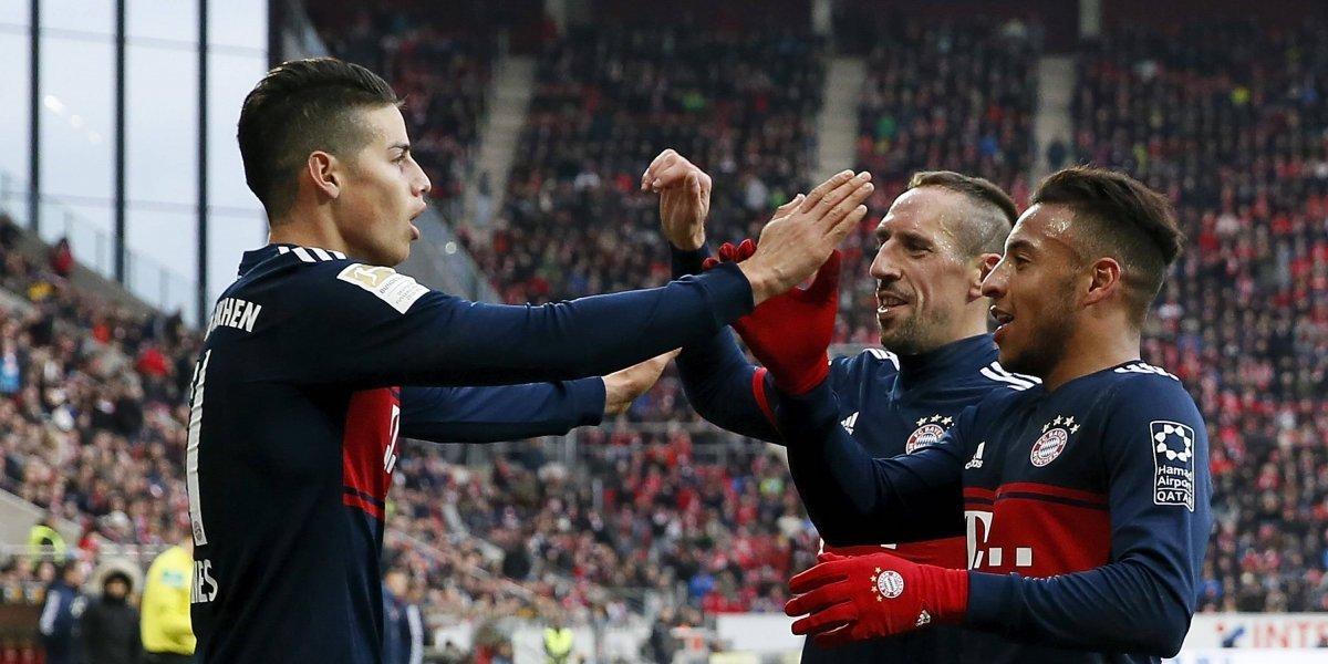 ¡James va por todo! Bayern no quiere fallar en la Copa de Alemania