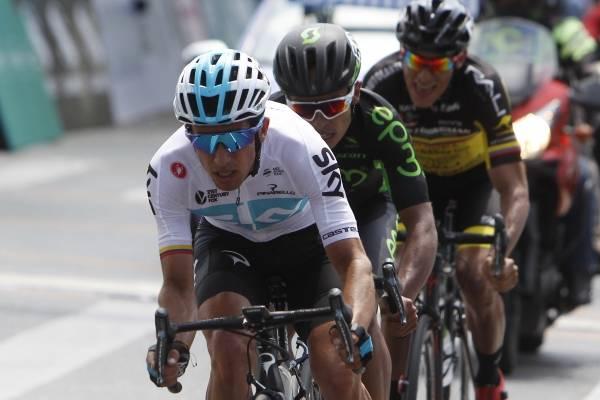 Sergio Luis Henao en el campeonato nacional