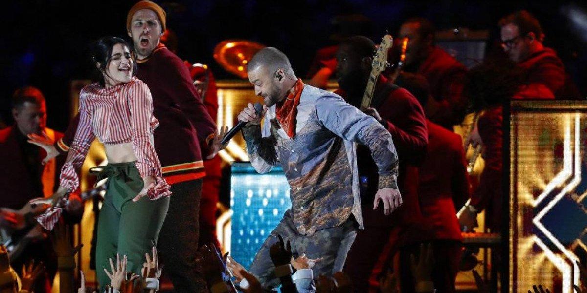 Justin Timberlake brinda espectáculo recargado en el Super Bowl