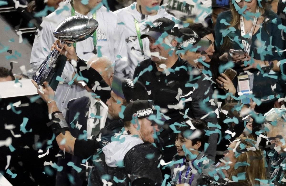 Los Eagles festejaron / imagen: AP