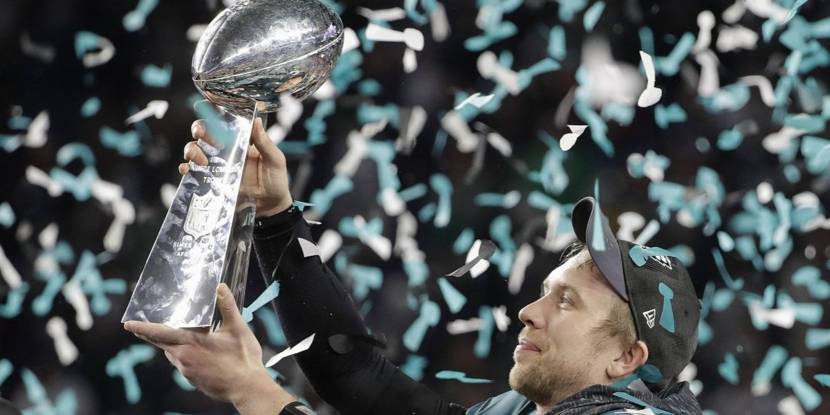 Los Eagles destronaron a los Patriots y ganaron su primer Super Bowl