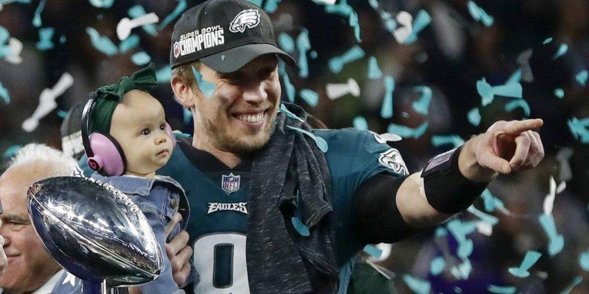 Nick Foles, de sustituto al Jugador Más Valioso de Super Bowl