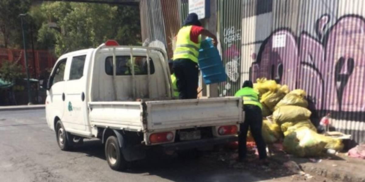 """""""Impresentable"""": Jadue denuncia a empresa de áreas verdes de la municipalidad de Maipú por botar escombros en Recoleta"""