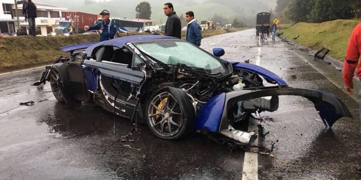 ¿Cuánto valen los automóviles deportivos del accidente en la vía Bogotá - Tunja?