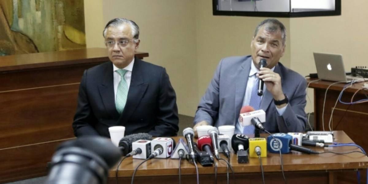 Rafael Correa dice que el caso Petrochina es persecución política