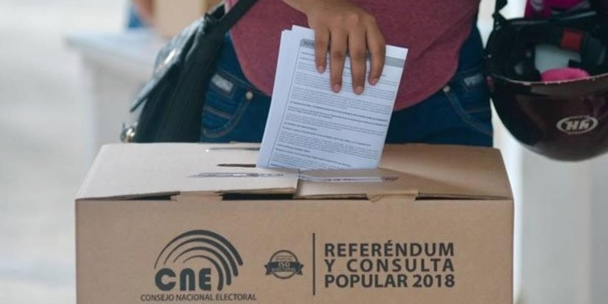 El No ganó en Europa en mayoría de las preguntas de la consulta popular