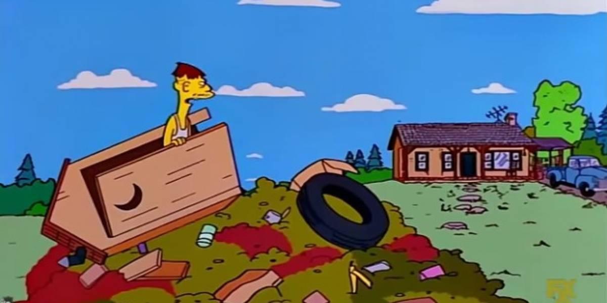 El día en el que Los Simpsons predijeron lo que pasaría en Bogotá con las basuras
