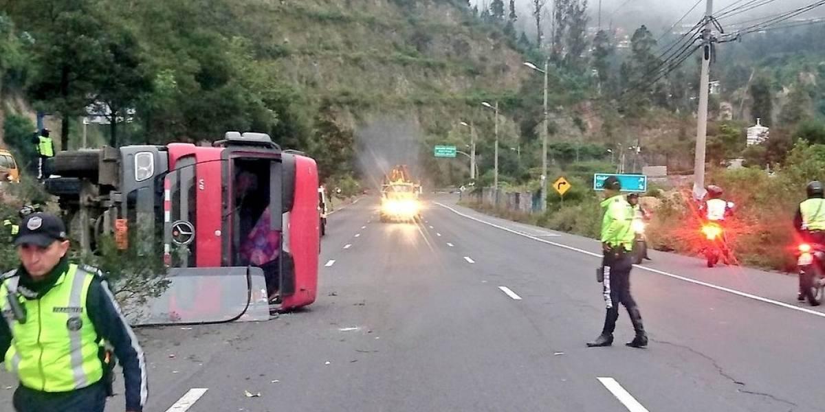 Se produjo un accidente de tránsito en la avenida Simón Bolívar