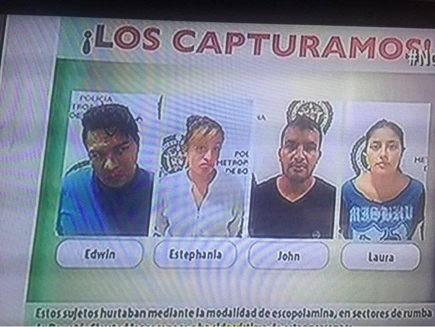 Capturados Fabián Herrera