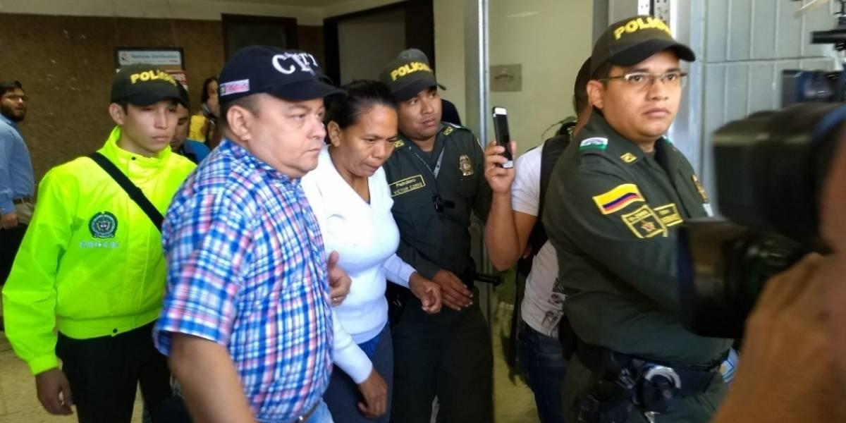 Legalizan captura de mujer que alojó a presuntos autores de atentados en Barranquilla