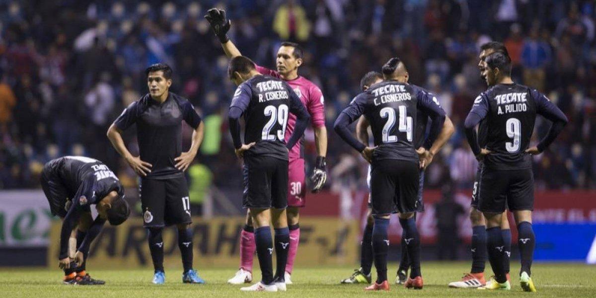 Jugadores de Chivas asumen culpa por la actual crisis