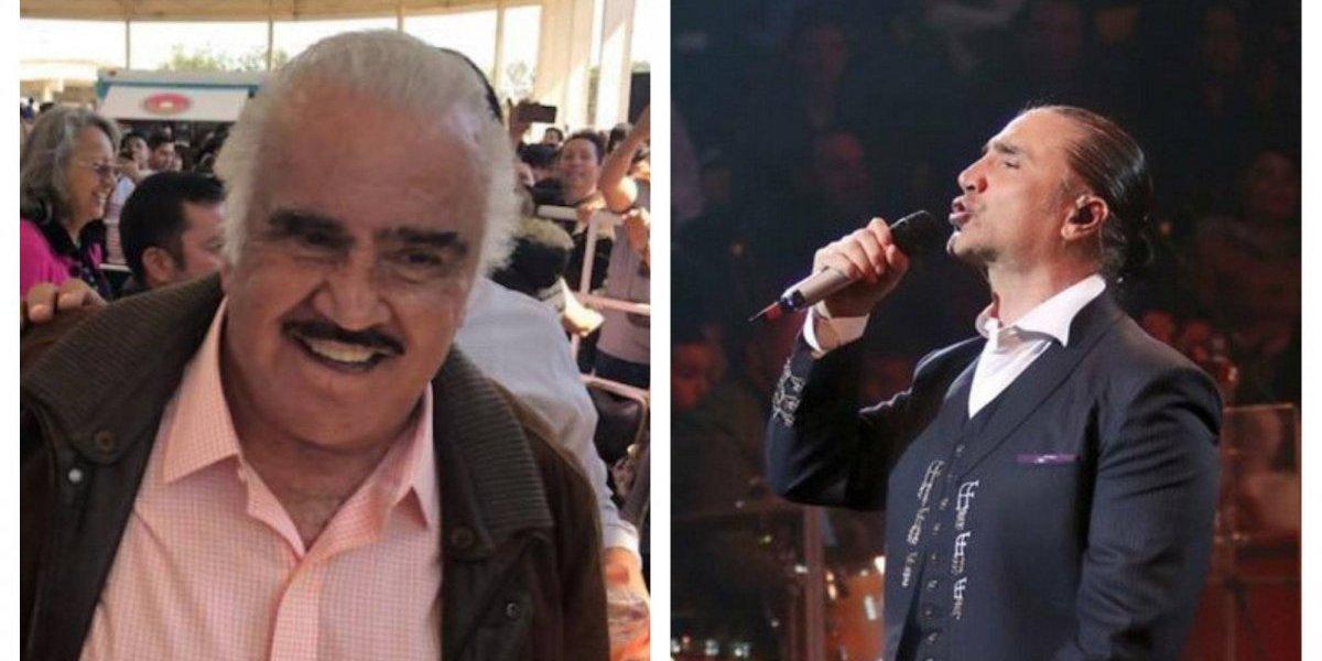 Vicente y Alejandro Fernández alteraron los corazones