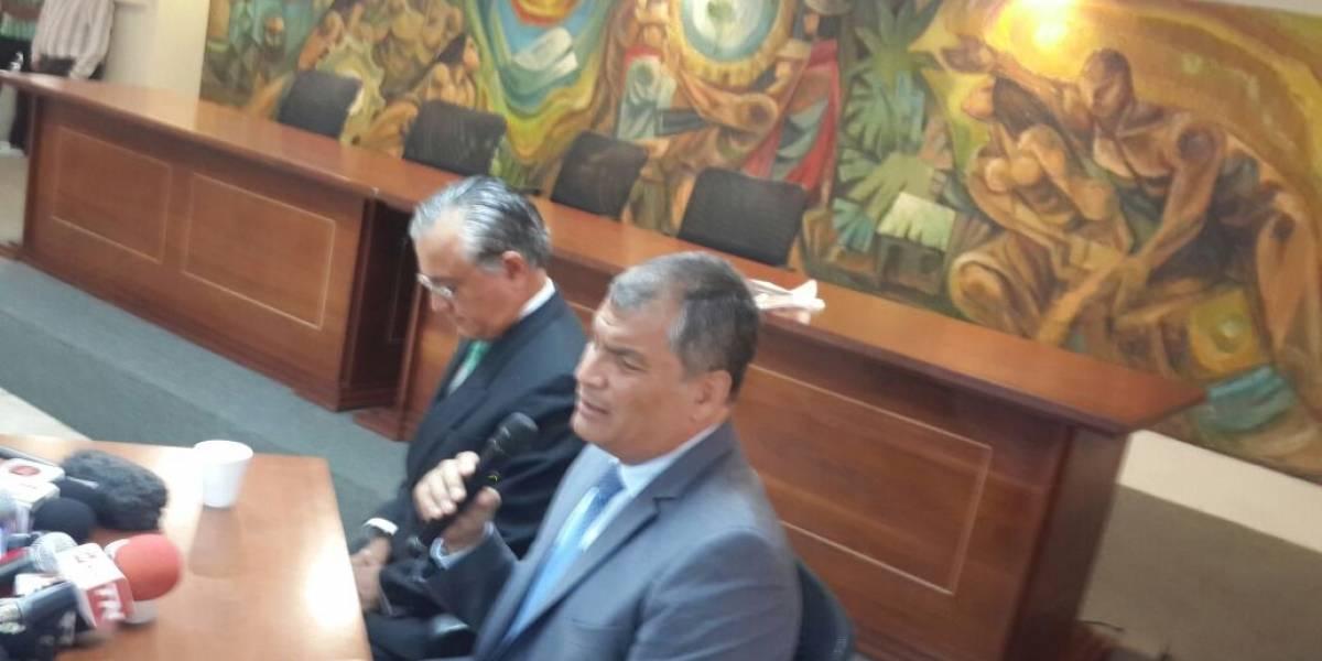 """Correa: """"El financiamiento del petróleo fue un gran negocio"""""""