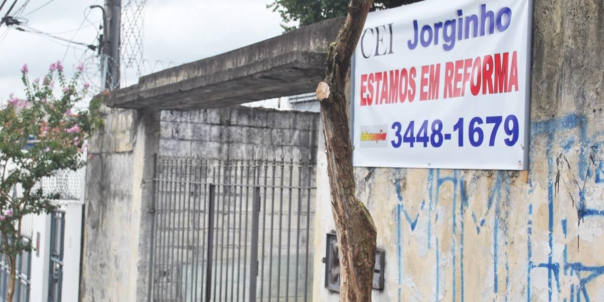 No dia do início das aulas, creches em São Paulo ainda estão em obras