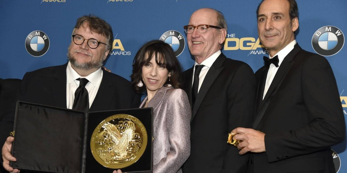 Guillermo del Toro ganha prêmio principal do sindicato de diretores por 'A Forma da Água'
