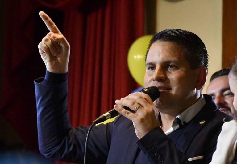 Fabricio Alvarado, candidato presidencial costarricense