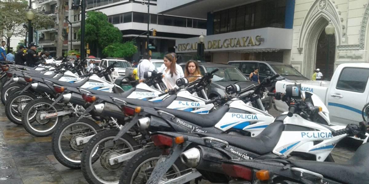 Calles cerradas en Guayaquil por la visita de Correa a la Fiscalía