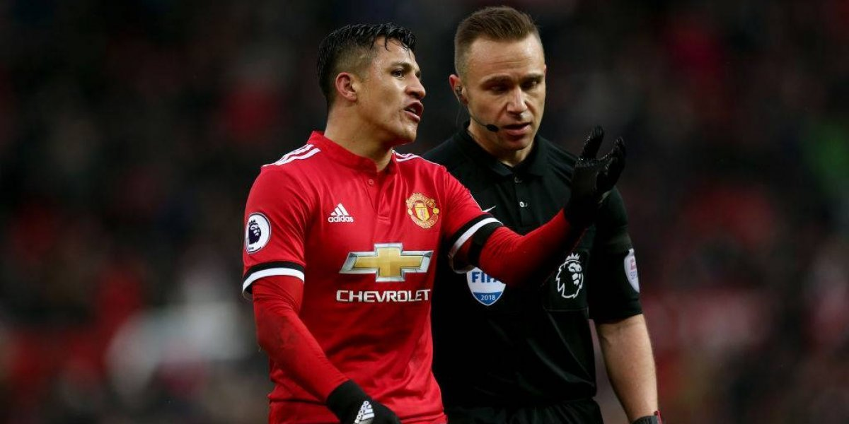 """""""Pegándole"""": La """"única forma"""" que encuentran en Inglaterra para parar a Alexis"""