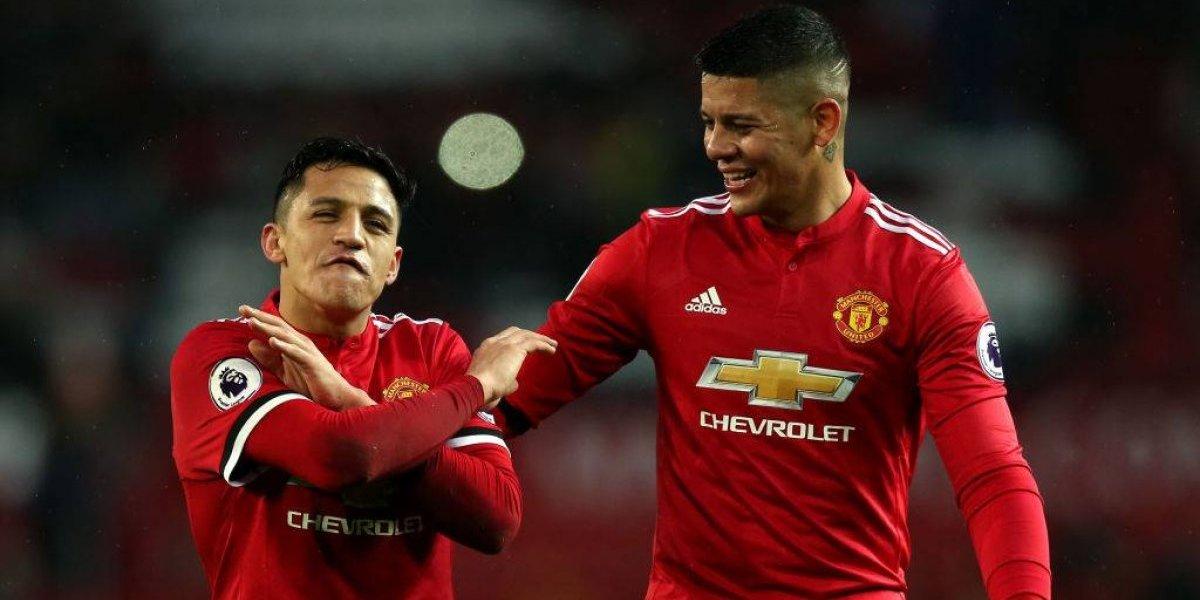 Los hinchas del United ya le tienen un cántico a Alexis evocando a vieja gloria del club