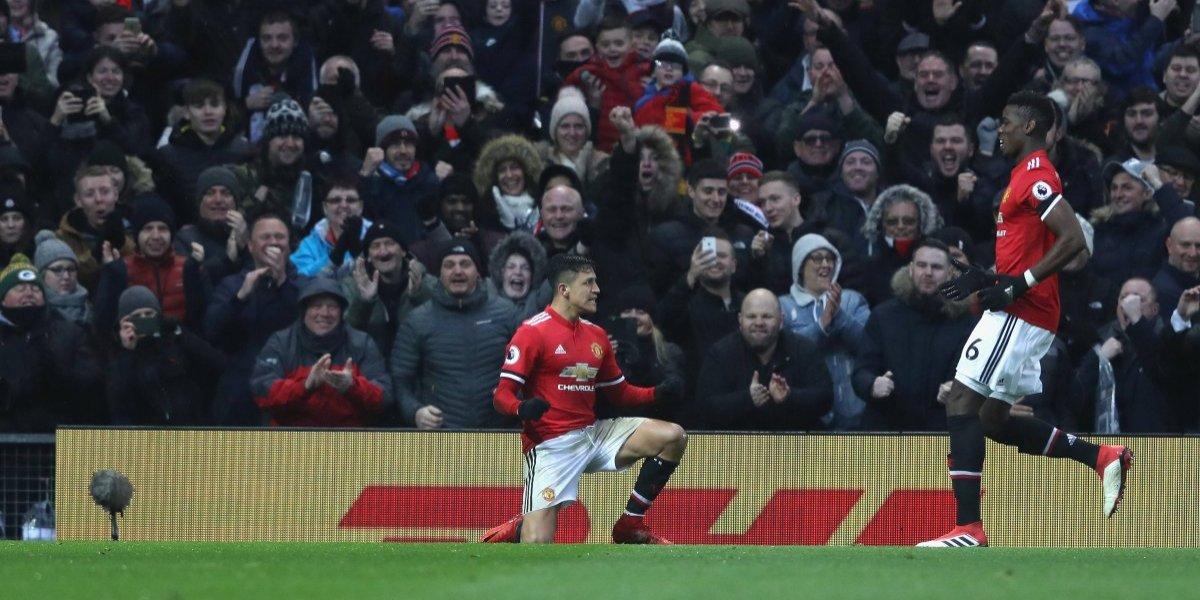 """Leyenda de Manchester United piensa en grande gracias a Alexis: """"Con él podemos llegar lejos en la Champions"""""""