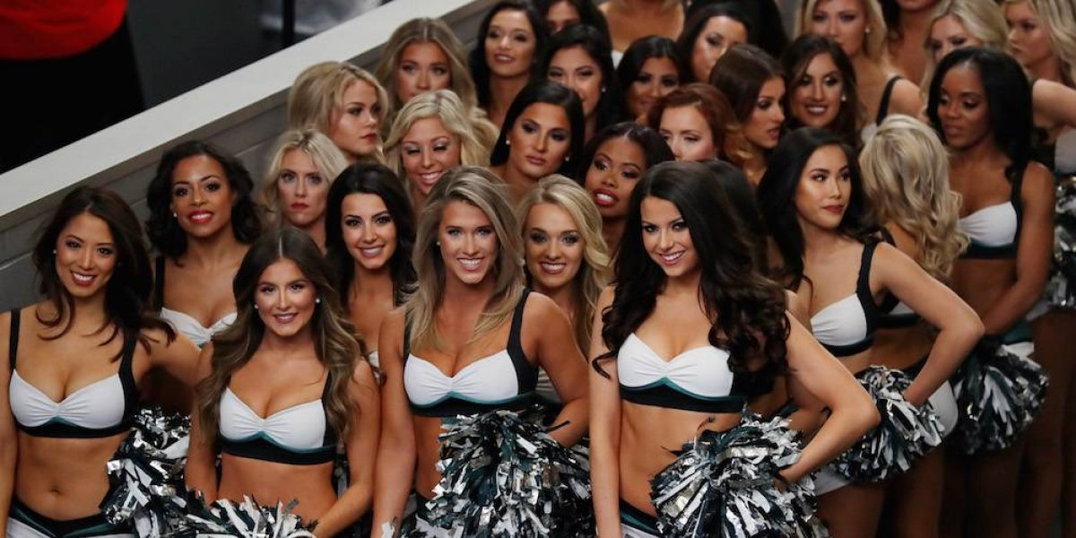 Las porristas del Super Bowl LII