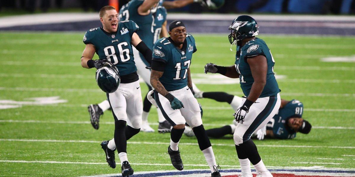 Águilas de Filadelfia vencen a Patriotas de Nueva Inglaterra y son campeones del Super Bowl LII