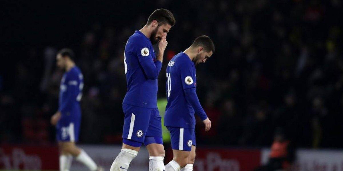 Watford golea y agudiza la crisis del Chelsea