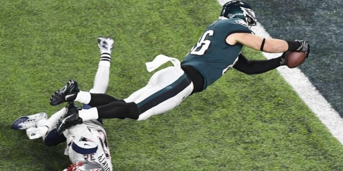 Foles y Ertz proclaman a los Eagles nuevos monarcas de la NFL