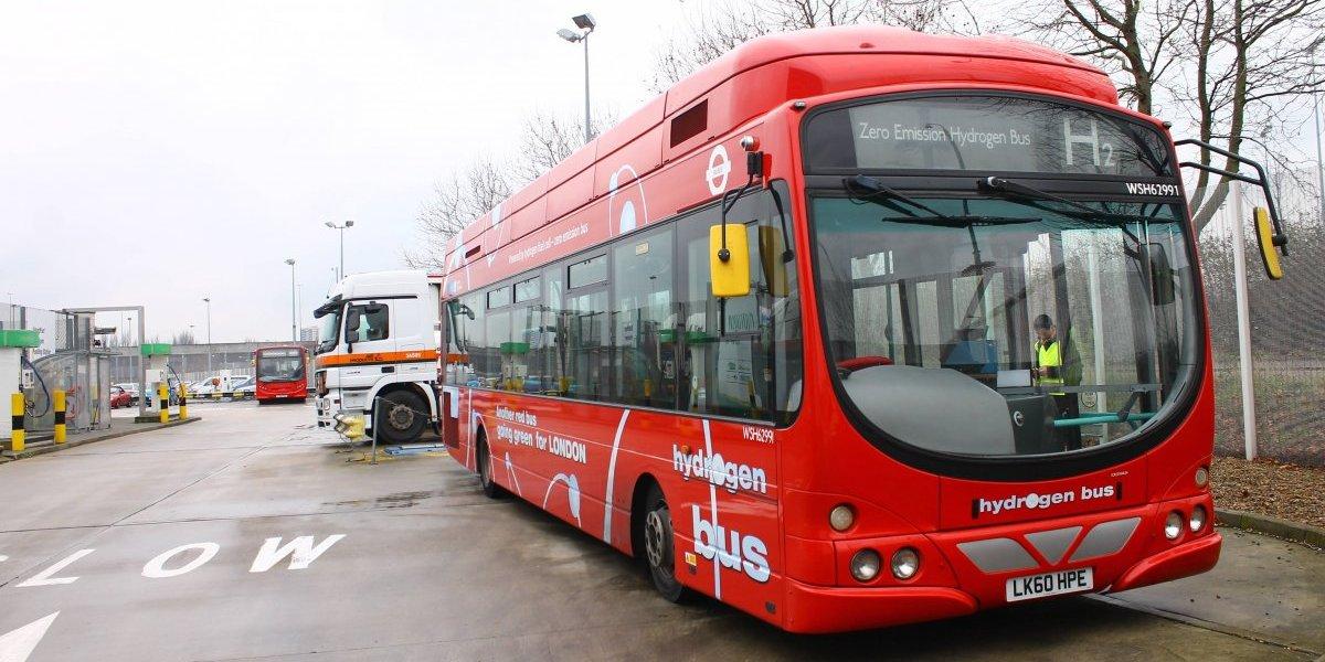 Buses a hidrógeno: la avanzada tecnología que podría destronar a los buses eléctricos del Transantiago