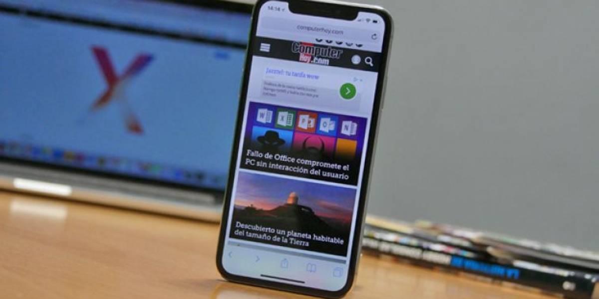 Usuarios del iPhone X descubren un nuevo fallo