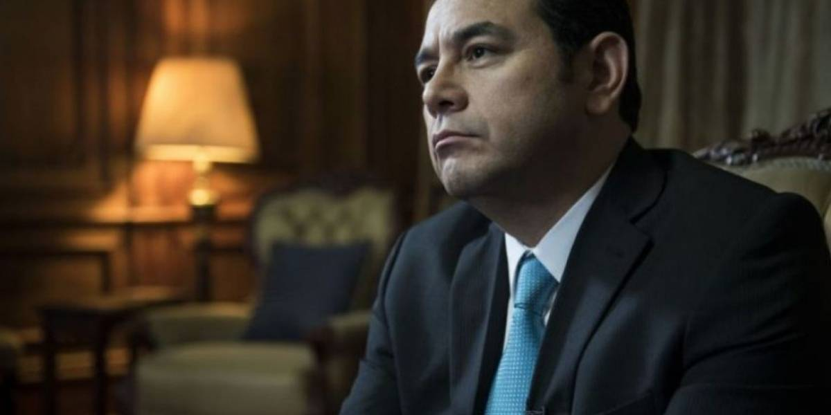 Trump agradece a Jimmy Morales el traslado de la embajada en Israel