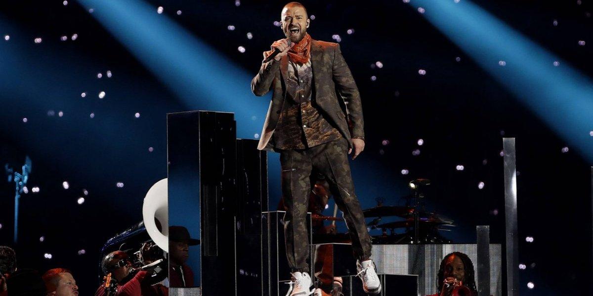 Justin Timberlake no logró deslumbrar en el Super Bowl