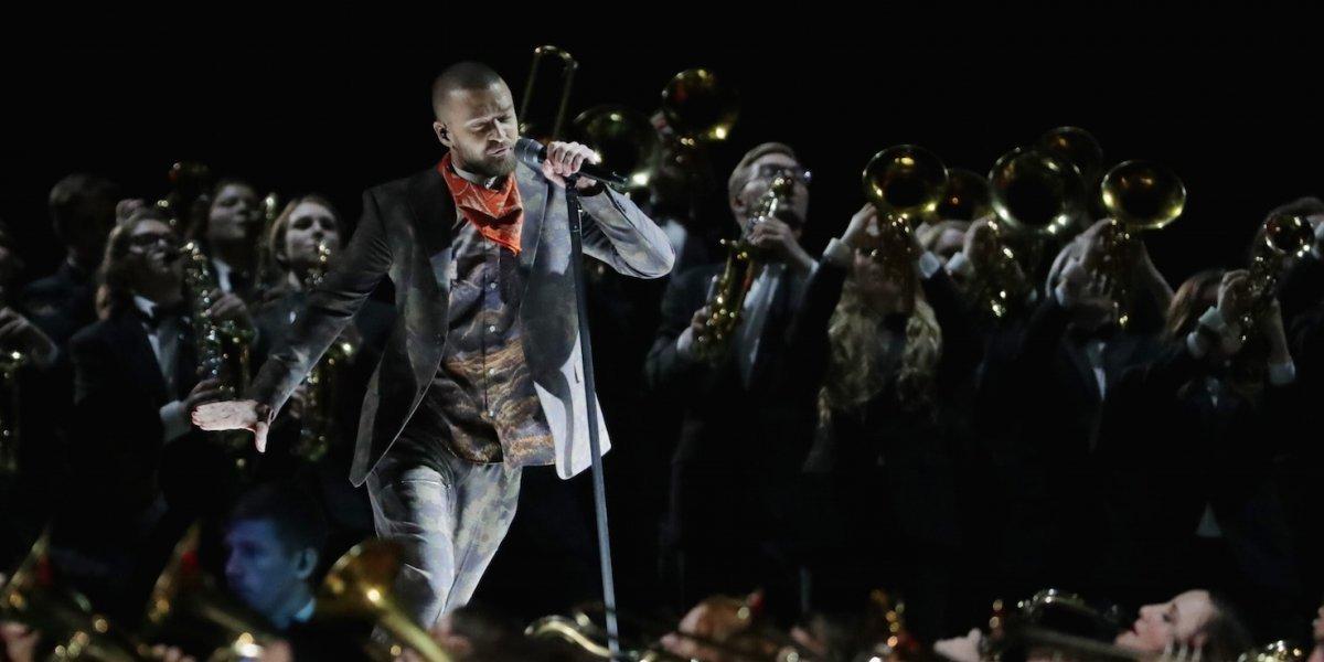 Arriesgando poco, Justin Timberlake puso a bailar a todos en el Super Bowl