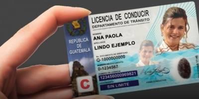 Licencia de conducir de Maycom