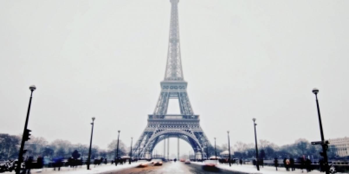 Decretan alerta naranja en casi la mitad de Francia por nevadas