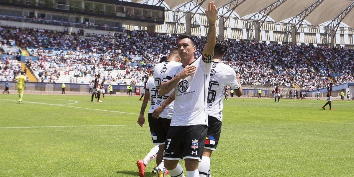 """El """"súper goleador"""" Esteban Paredes va por más récords con Colo Colo ante Audax Italiano"""