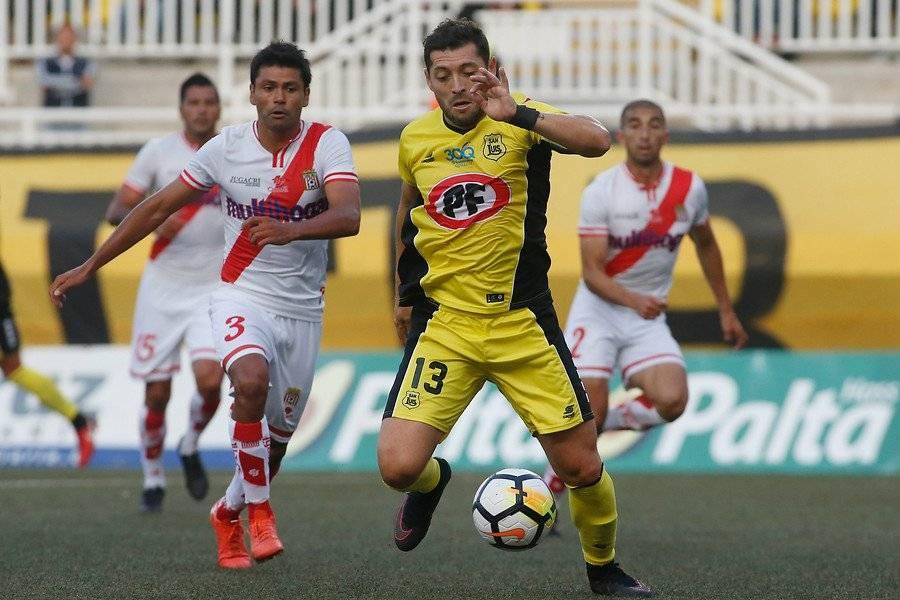 Pepe Rojas fue capitán y factor ofensivo en San Luis / Foto: Photosport