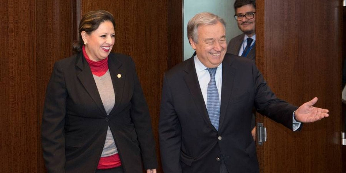 Documento filtrado describe reunión entre Secretario de ONU y Canciller sobre CICIG y Velásquez