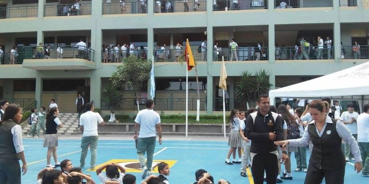 Colegio de Guayaquil suspende clases tras alarma de bomba