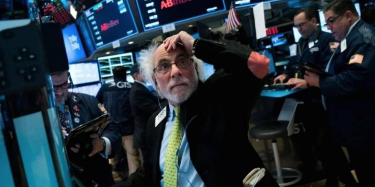 Dow Jones registra su peor caída de la historia