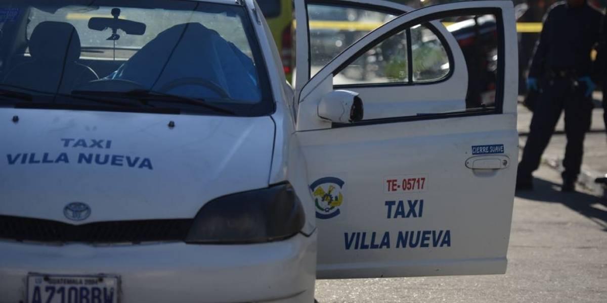 Localizan en zona 11 a taxista con múltiples impactos de bala