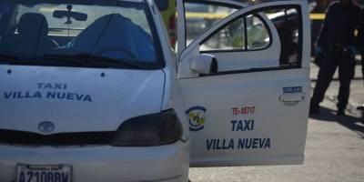 Taxista fallecido en zona 11