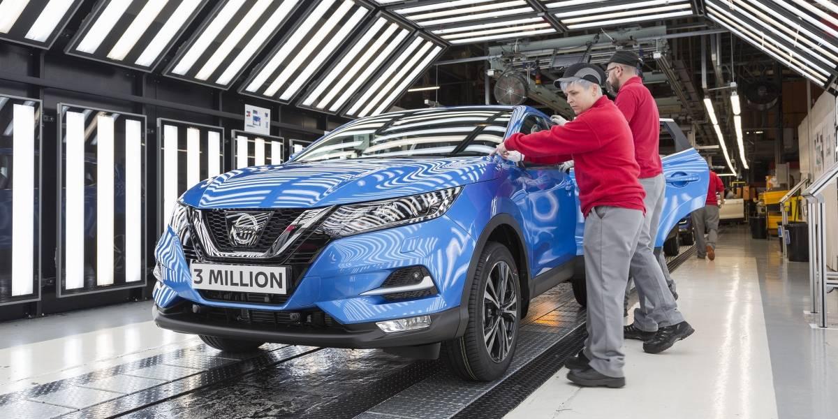 Nissan celebra ventas récord en Europa y tres millones de Qashqai fabricados en Inglaterra