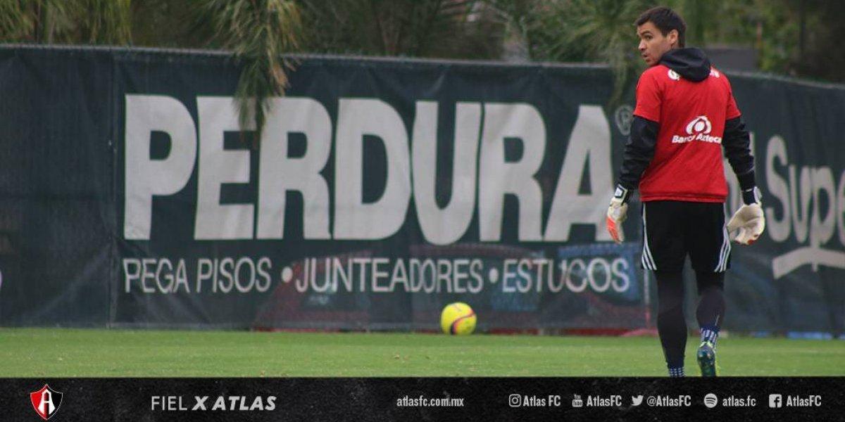 Toselli se repone en México y entró al ranking de las mejores atajadas del fin de semana