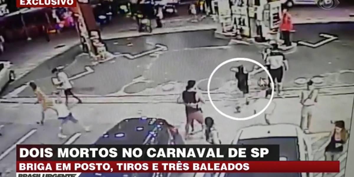 Vídeo mostra briga que deixou dois foliões mortos em Pinheiros