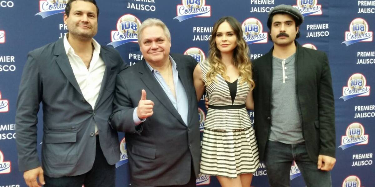 108 Costuras realiza premier en Guadalajara
