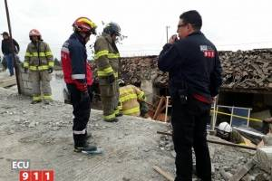 Colapso de vivienda en Latacunga-Cotopaxi
