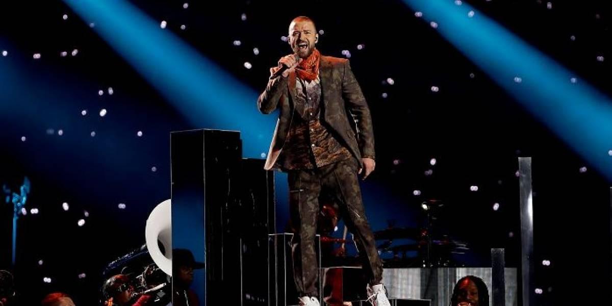Video: Justin Timberlake hace renacer a Prince en el medio tiempo del Super Bowl
